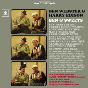 Ben Webster and Harry Edison - Ben & Sweets + 1 bonus track (180g) 12 inch [VINYL]