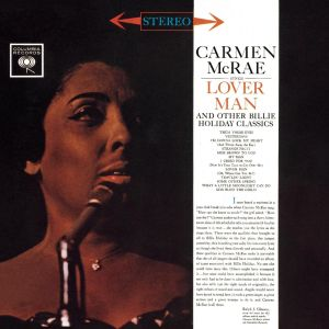 Carmen McRae - Carmen Mcrae Sings Lover Man and Other Billie Holiday Classics