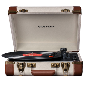 Gramofon Crosley Executive-Linnen/Brown