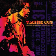 Jimi Hendrix - Machine Gun: Fillmore East First Show 31.