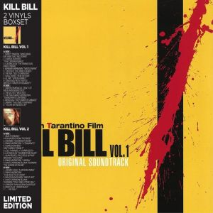 Various Artists - Kill Bill Vol 1 & BOF - Kill Bill Vol 2 (Vinyl coffret)