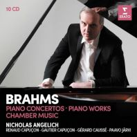 Nicholas Angelich - Brahms: Piano Concertos, Piano Works & Chamber Music