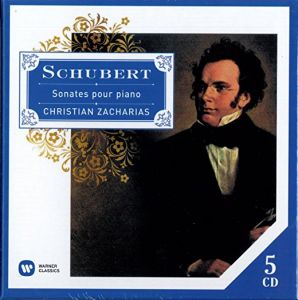 Christian Zacharias - Schubert: Piano Sonatas (Emi France)