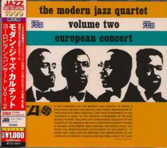 Modern jazz quartet - European Concert Volume Two