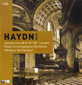 Harnoncourt - Haydn - The London Symphonies