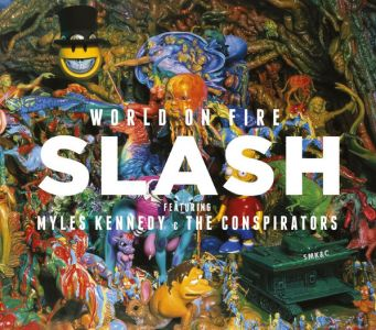 Slash - World On Fire [ Red Vinyl]