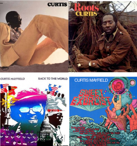 Curtis Mayfield - Curtis Mayfield Studio Albums 1970-1974