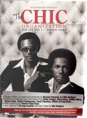 "Chic - Nile Rodgers presents: The Chic Organization, Boxset Vol. I / ""Savoir Faire"""
