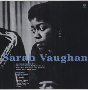 Sarah Vaughan - With Clifford Brown + 1 bonus track (180g) 12 [VINYL]