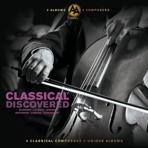 Various Artists - Classical-Discovered 3LP (Vinyl)