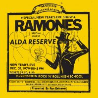 The Ramones - Live at the Palladium (Rsd 2019) New York, Ny (12/31/79)