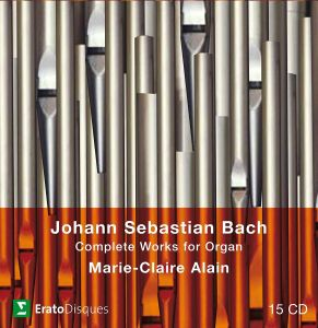 Marie-Clai Alain - Bach, JS: Complete Organ Works