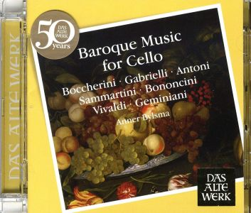 Boccherini, Gabrielli - Baroque Music For Cello