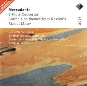 Jean-Pierre Rampal - Mercadente: Three Flute Concertos, Sinfonia On Themes From Rossini'S & Stabat