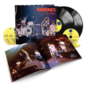 The Ramones - It's Alive (40th Anniversary Deluxe Edition) (Vinyl+CD box)