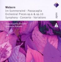 Giuseppe Sinopoli - Webern In Sommerwind Orchestral Pieces Variations