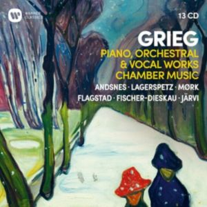 Various Artists - Grieg: Piano, Orchestral & Vocal Works, Chamber Music