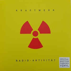 Kraftwerk - Radio-Aktivitat (German Version) [Transparent Yellow Vinyl]
