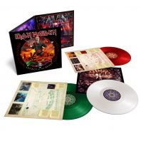 Iron Maiden - Nights of the Dead,Legacy of the Beast: Live (Red/White/Green Vinyl)