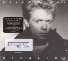 Bryan Adams - RECKLESS (30TH ANNIVERSARY 2 CD DELUXE, REMASTER)