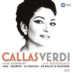 Maria Callas - Callas/ Verdi: Four Legendary Live Performances