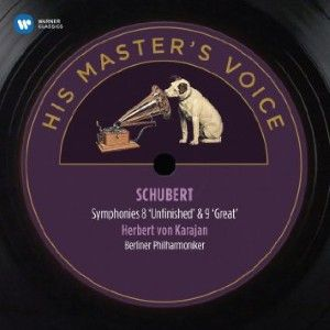 H.Von Karajan - Schubert: Symphonies 8, 'unfinished' & 9, 'great'